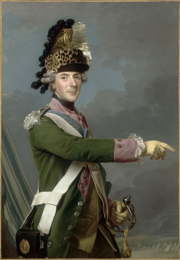 Alexandre Roslin, Portret Ludwika Ferdynanda, delfina Francji, Wersal, Muzeum Państwowe Pałaców w Wersalu i w Trianon