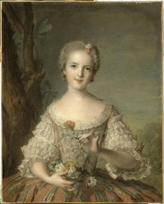 Jean-Marc Nattier, Madame Louise w opactwie Fontevrault, Wersal, Muzeum Państwowe Pałaców w Wersalu i w Trianon